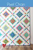 Pixel Chain quilt sewing pattern from Cluck Cluck Sew