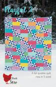 Playful 2 quilt sewing pattern from Cluck Cluck Sew