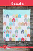 INVENTORY REDUCTION...Suburbs quilt sewing pattern from Cluck Cluck Sew