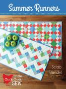 Summer Runners table runner sewing pattern from Cluck Cluck Sew