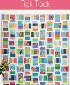 Tick Tock quilt sewing pattern from Cluck Cluck Sew 2