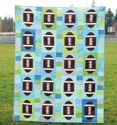 Touchdown quilt sewing pattern from Cluck Cluck Sew 2