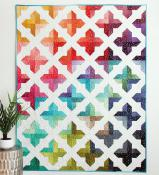 Trellis quilt sewing pattern from Cluck Cluck Sew 2