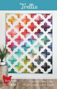 Trellis quilt sewing pattern from Cluck Cluck Sew