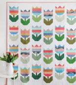 INVENTORY REDUCTION...Tulips quilt sewing pattern from Cluck Cluck Sew 2