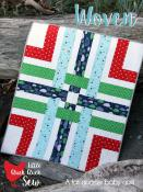 Woven quilt sewing pattern from Cluck Cluck Sew