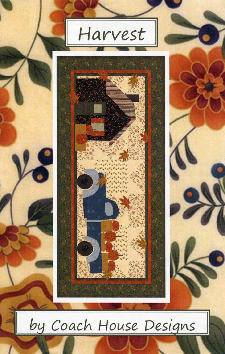 Harvest-quilt-sewing-pattern-Coach-House-Designs-front