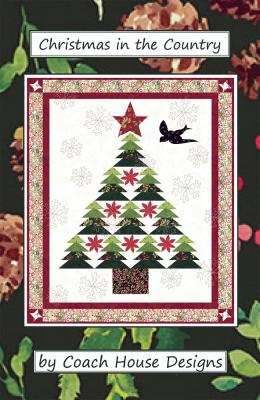 Christmas in the Country quilt sewing pattern from Coach House Designs