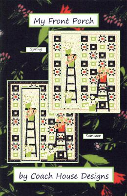 My Front Porch quilt sewing pattern from Coach House Designs