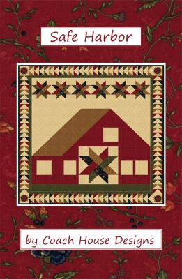 Safe Harbor quilt sewing pattern from Coach House Designs