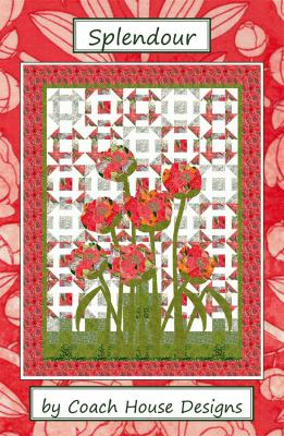 Splendour quilt sewing pattern from Coach House Designs