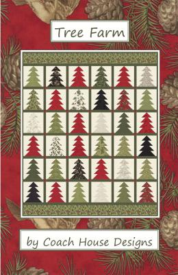 INVENTORY REDUCTION...Tree farm quilt sewing pattern from Coach House Designs