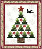 Christmas in the Country quilt sewing pattern from Coach House Designs 2