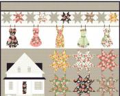 Farmhouse quilt sewing pattern from Coach House Designs 2