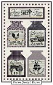 CLOSEOUT...Home Grown Banners quilt sewing pattern from Coach House Designs 5