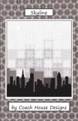 Skyline quilt sewing pattern from Coach House Designs