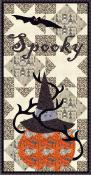 CLOSEOUT...Spooky Time quilt sewing pattern from Coach House Designs 2