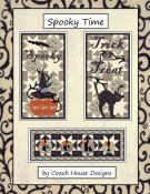 Spooky Time quilt sewing pattern from Coach House Designs
