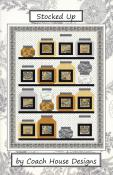 Stocked Up quilt sewing pattern from Coach House Designs
