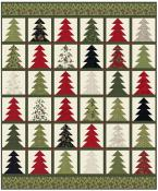 INVENTORY REDUCTION...Tree farm quilt sewing pattern from Coach House Designs 2