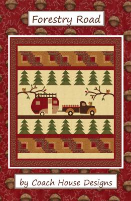 Forestry Road quilt sewing pattern from Coach House Designs