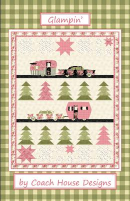 Glampin' quilt sewing pattern from Coach House Designs