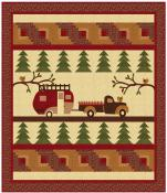 Forestry Road quilt sewing pattern from Coach House Designs 2