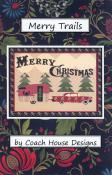 CLOSEOUT...Merry Trails quilt sewing pattern from Coach House Designs
