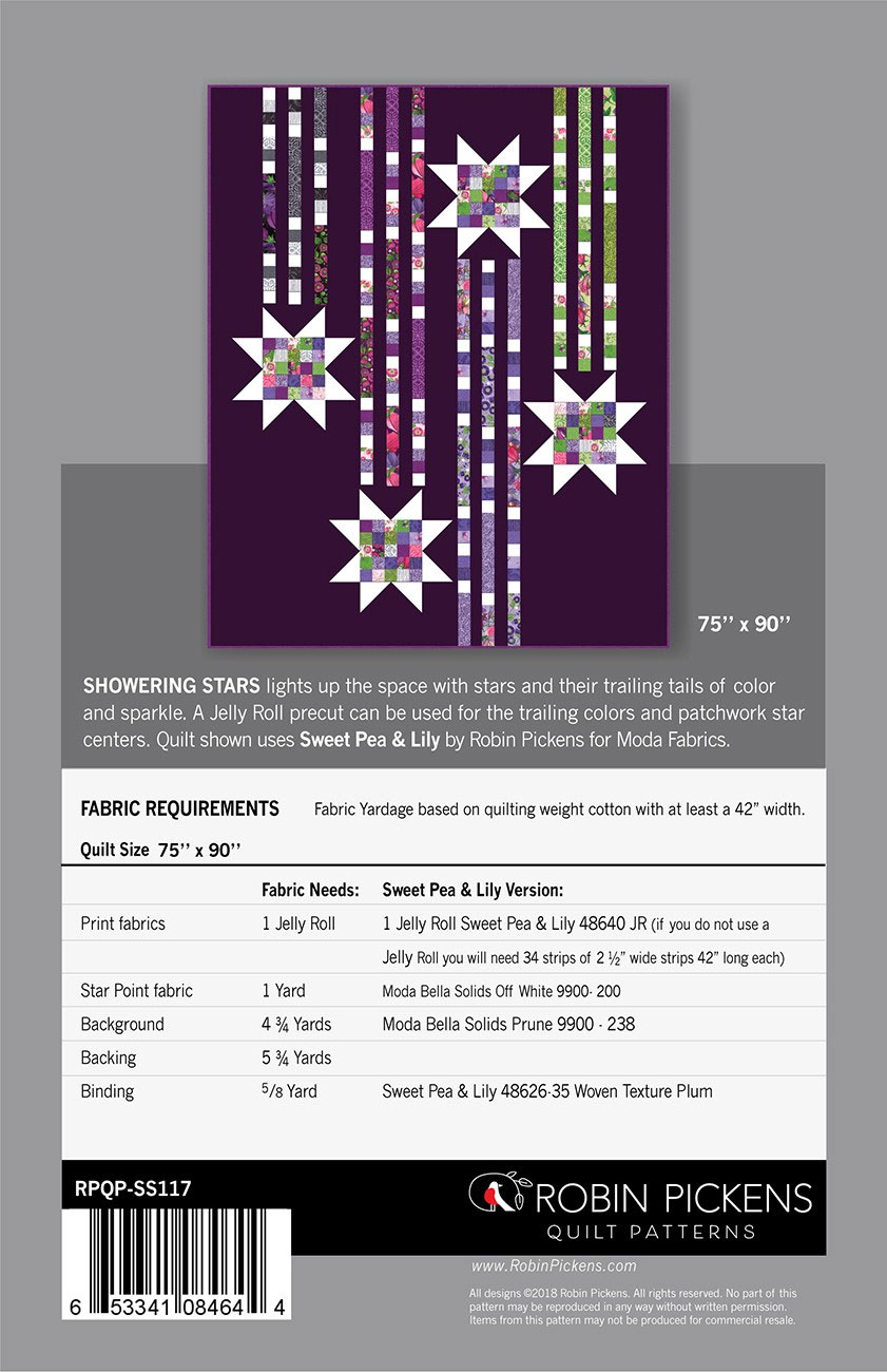 Showering-Stars-quilt-sewing-pattern-color-and-quilt-back