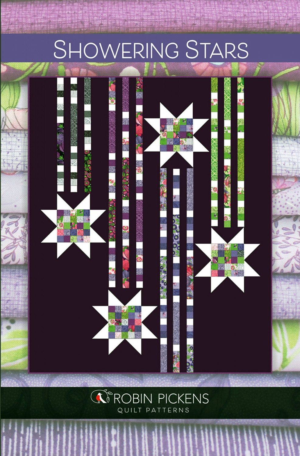 Showering-Stars-quilt-sewing-pattern-color-and-quilt-front