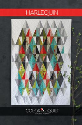 Harlequin quilt sewing pattern by Robin Pickens
