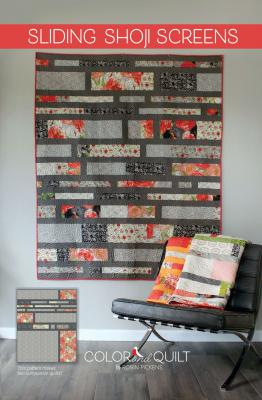 Sliding Shoji Screens quilt sewing pattern by Robin Pickens