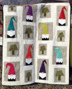 A Tale of Two Gnomes quilt sewing pattern from Cotton Street Commons 2