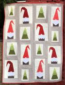 A Tale of Two Gnomes quilt sewing pattern from Cotton Street Commons 3
