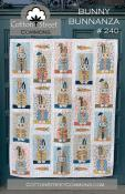Bunny Bunnanza quilt sewing pattern from Cotton Street Commons