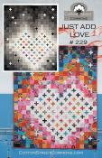 Just Add Love quilt sewing pattern from Cotton Street Commons