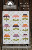 Pilley Posies quilt sewing pattern from Cotton Street Commons