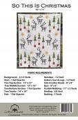 So This Is Christmas quilt sewing pattern from Cotton Street Commons 1