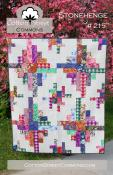 Stonehenge quilt sewing pattern from Cotton Street Commons