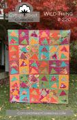 Wild Thing quilt sewing pattern from Cotton Street Commons