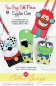 Fun Guys Cell Phone & Eyeglass Case sewing pattern from Cotton Ginnys