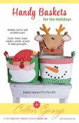 Handy Baskets For The Holidays sewing pattern from Cotton Ginnys