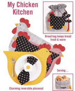 My Chicken Kitchen sewing pattern from Cotton Ginnys