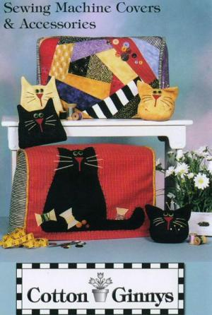 INVENTORY REDUCTION...Sewing Machine Covers pattern from Cotton Ginnys