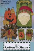 INVENTORY REDUCTION...Changing Seasons banner pattern from Cotton Ginnys