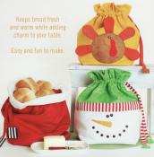 Bread Bagz for the Holidays sewing pattern from Cotton Ginnys 2