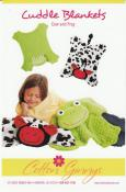 INVENTORY REDUCTION...Cow & Frog Cuddle Blankets sewing pattern from Cotton Ginnys