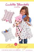 INVENTORY REDUCTION...Cat & Dog Cuddle Blankets sewing pattern from Cotton Ginnys