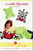 Cow & Frog Cuddle Blankets sewing pattern from Cotton Ginnys