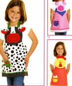 INVENTORY REDUCTION...Farm Friends Apron sewing pattern from Cotton Ginnys